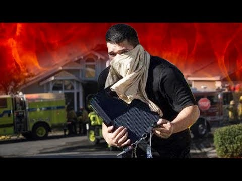 MAN SAVES XBOX FROM FIRE, GOD OF WAR RELEASE DATE LEAKED? & MORE
