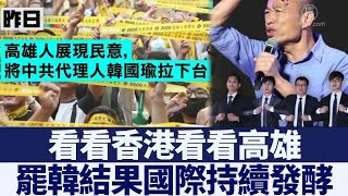 高雄市民高票罷免市長 罷韓在國際持續發酵|新唐人亞太電視|20200614