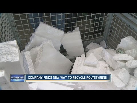 Company finds new way to get rid of styrofoam