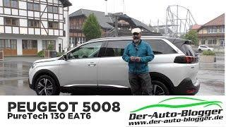Peugeot 5008 Allure 1.2 PureTech EAT -  Test, Review und Fahrbericht / Testdrive