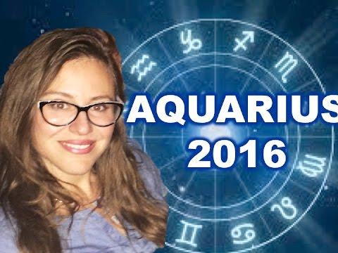 AQUARIUS 2016 Horoscope. DEEPER INTIMACY, FINANCIAL INCREASE!