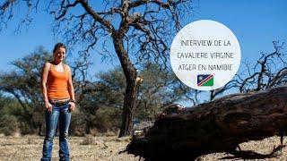 Caval&go - Interview de Virginie Atger en Namibie
