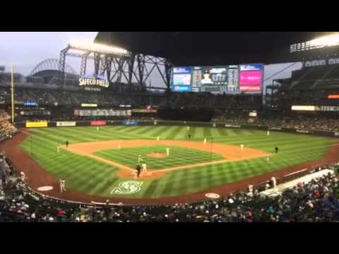 Safeco Field Roof Closing Time Lapse Youtube