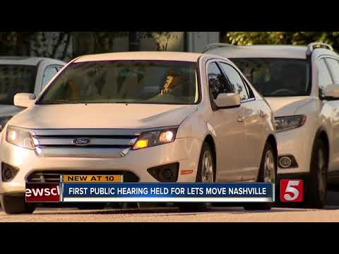 Metro Holds First Lets Move Nashville Public Hearing
