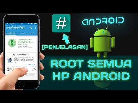 Cara Me Root HP android.
