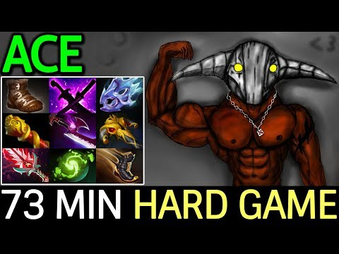ACE [Sven] 73 Min Full 9 Slot Hard Game 7.14 Dota 2 - 동영상
