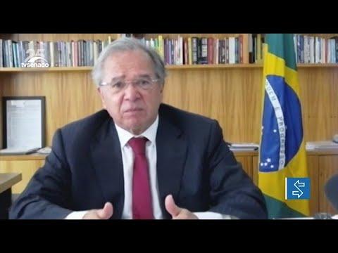 Em reunião com Guedes, senadores questionam valor do auxílio emergencial de R$ 250