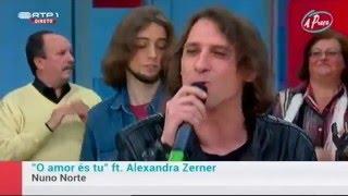 """NUNO NORTE """" O AMOR ÉS TU""""  -Promo TV - Programa """" A PRAÇA """""""
