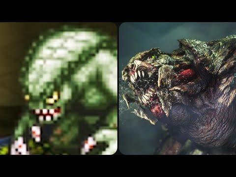 Evolution of Hunter from Resident Evil 1996-2020