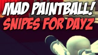 ROBLOX | Mad Paintball SNIPES FOR DAYZ