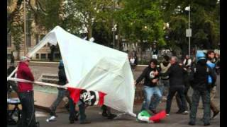 Bergamo Antifascista contro casapound