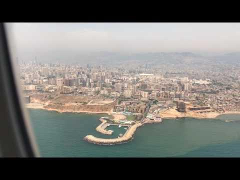 Landing in Beirut, Lebanon 2017