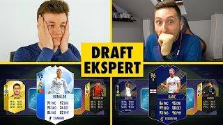 DRAFT EKSPERT [#6] | LACHU vs ZWYKŁY KIBIC | FIFA 18