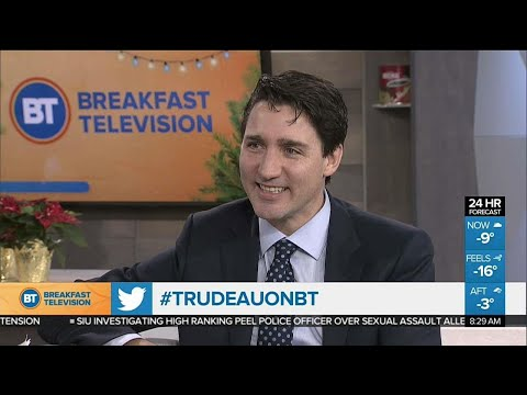 Prime Minister Justin Trudeau answers questions in first year-end interview