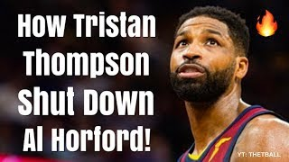 How Tristan Thompson Has SHUT DOWN Al Horford in the NBA Playoffs | Balling For Cleveland Cavaliers!