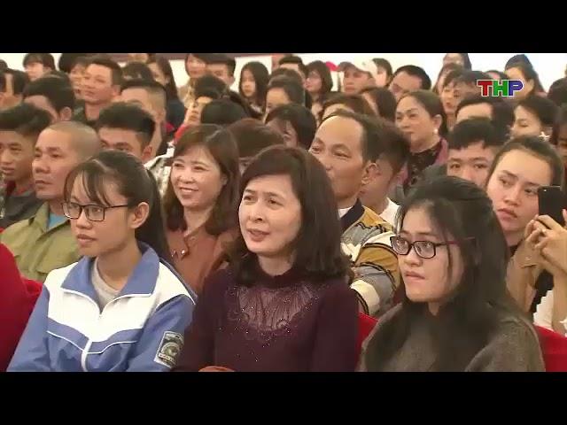Du học nhật bản Hồng Nhung Group - lễ trao học bổng tại hải phòng