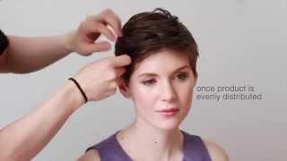 DIY BRIDESMAID HAIR STYLES - PIXIE CUT