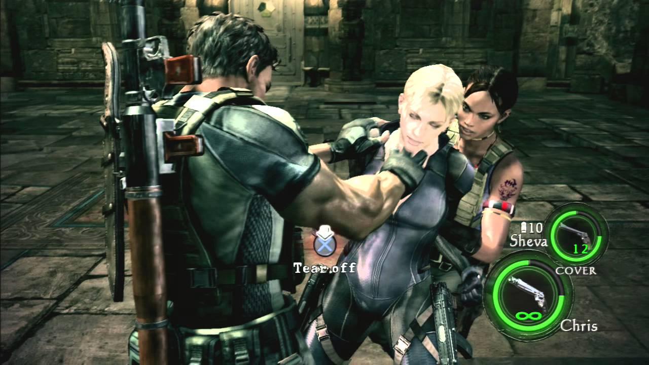 Resident Evil 5 Jill Valentine Fight Professional