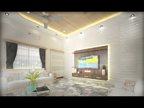4k 360 View Drawing room Interior Design