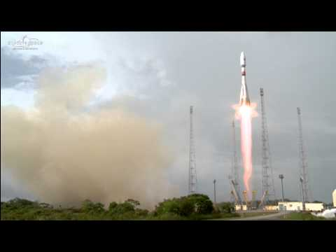 Arianespace launches O3b satellites on Soyuz mission
