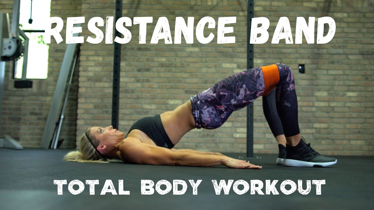 Resistance Band Total Body Workout And Booty Builder