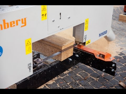 Timbery M100 – the sawmill for ambitious hobbyist