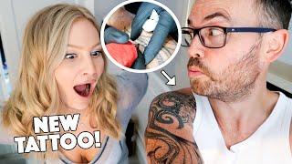 I GOT A NEW TATTOO! (fixing the old bad tattoo)