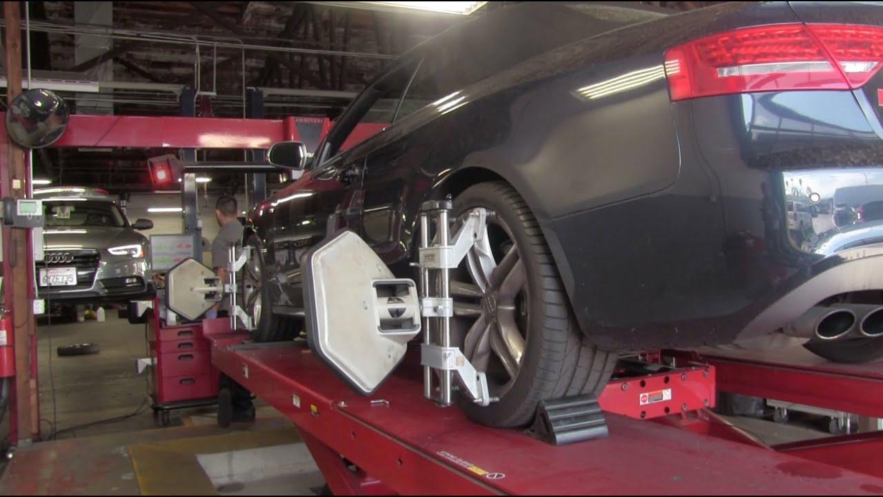 Audi Tire Alignment Youtube