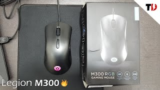 Lenovo Legion M300 Gaming Mouse Unboxing amp Review