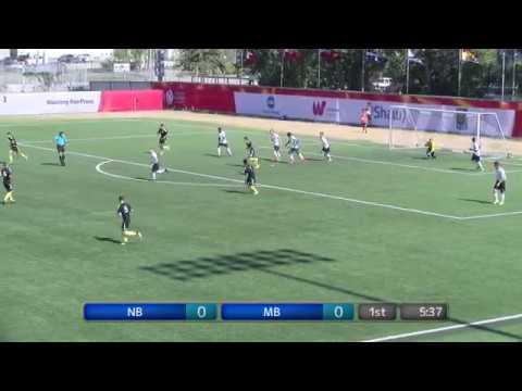 2017 Canada Summer Games - Men's Soccer - Manitoba vs  New Brunswick