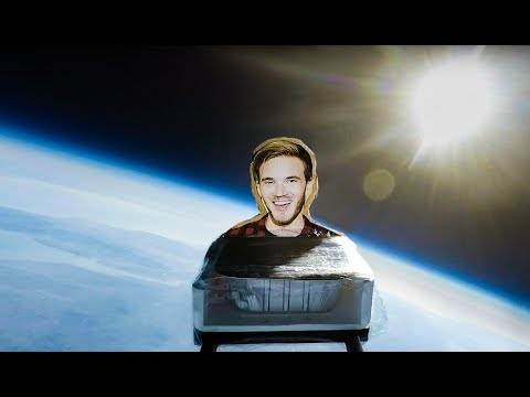 I Sent Lasagna Into Space To Save PewDiePie (ft. MrBeast)
