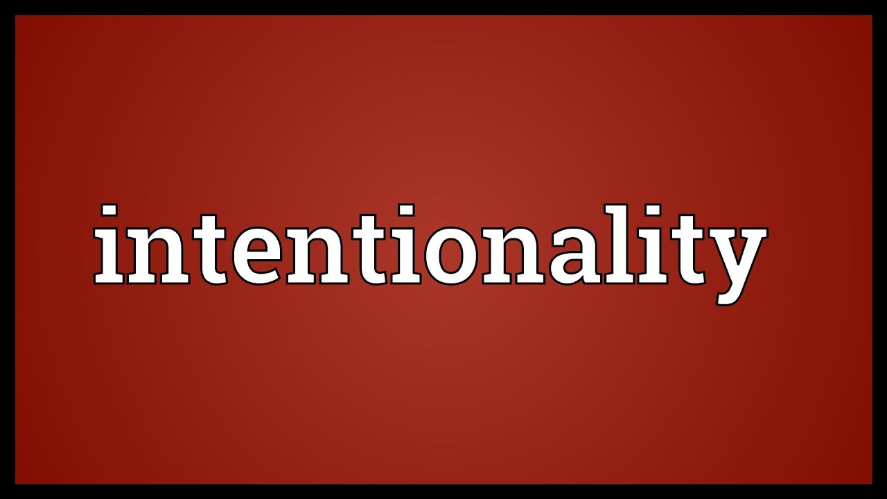 Trading Intenionality ( Stop Losing Money In Trading)
