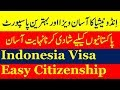 Best Country for Pakistanis to get Citizenship Through Marriage Plus Indonesia Visa.