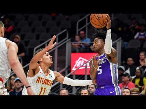 NBA Sacramento Kings vs Atlanta Hawks   Nov 1,  2018