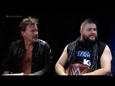Tom Phillips vs Kevin Owens and Chris Jericho