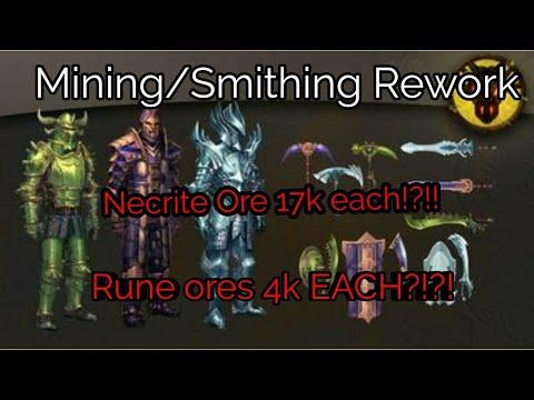 Runescape 3 Mining & Smithing Update