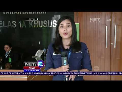 Live Report Agenda Sidang Pembacaan Surat Dakwaan - NET 12