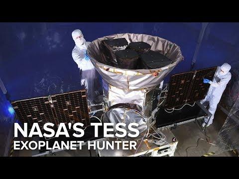 Meet NASA's new exoplanet-hunting satellite, TESS