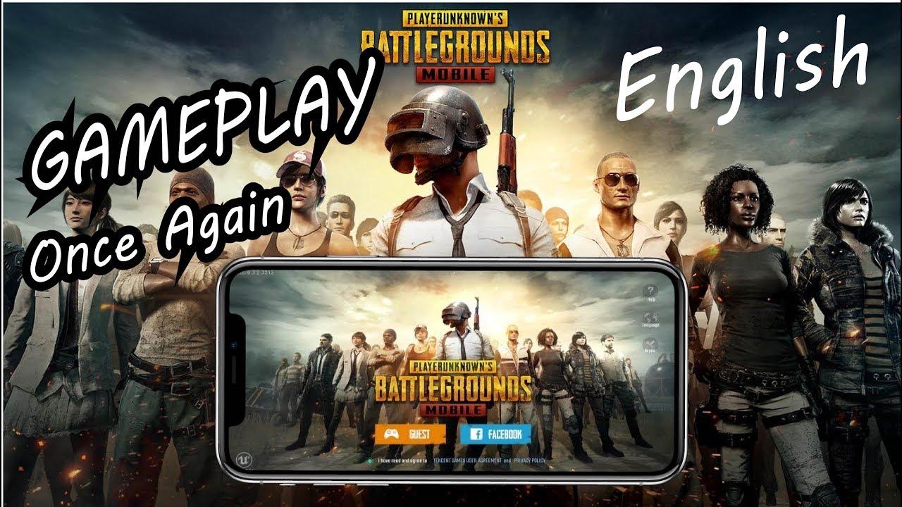 Pubg Mobile English Version: PUBG Mobile Gameplay English Version