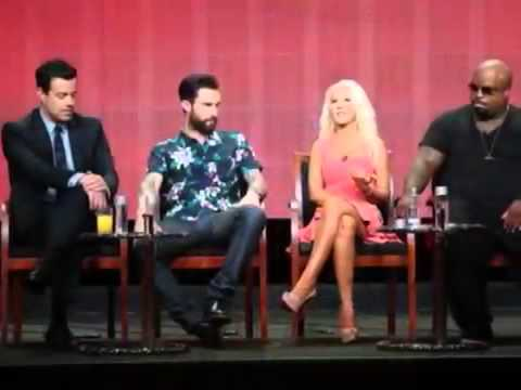 Christina Aguilera Shows Off Major Weight Loss at The Voice Event