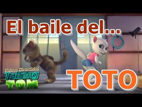 El baile del Toto ft Talking Tom | Parodia