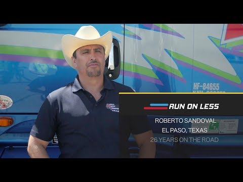 RUN ON LESS Driver Profile: Roberto Sandoval - Mesilla Valley Transportation