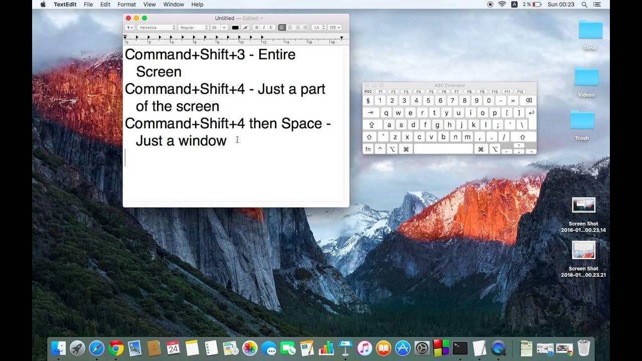 Screen capture software mac os x
