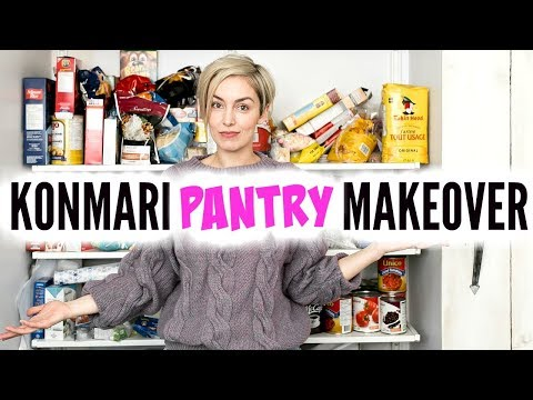 KONMARI METHOD DECLUTTER: Pantry and Kitchen Makeover