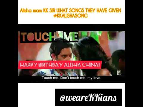 Alisha Chinai / KK / KK ALISHA SONG / TOUCH ME / YE DIL TUMPE / I LOVE YOU FOR WHAT YOU ARE Mp3