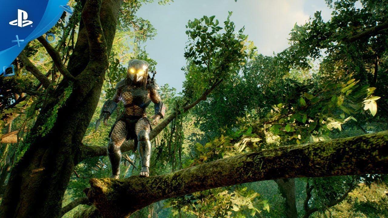 PS4《Predator: Hunting Ground》遊戲實機影片 (中文字幕)