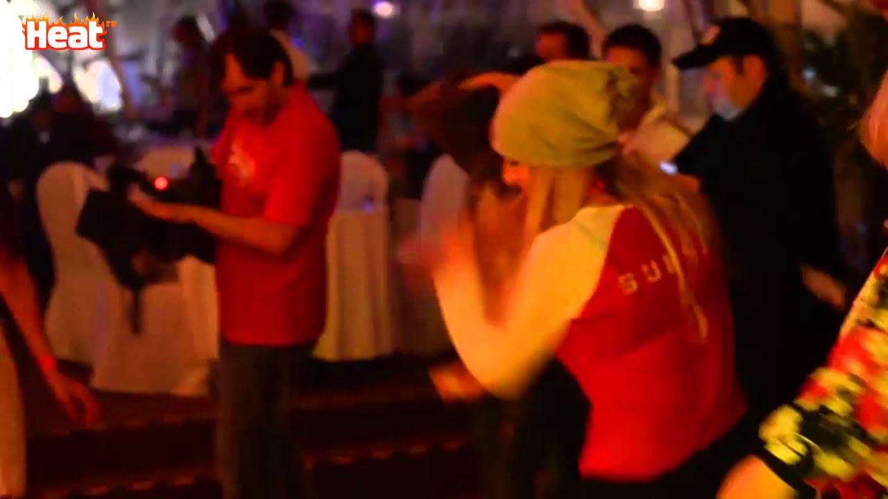 Екатерина Варнава устроила бразильские танцы на вечеринке ...