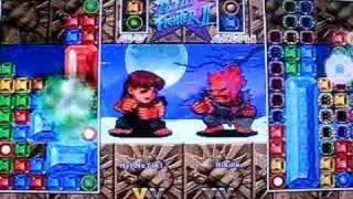 Super Puzzle Fighter HD Remix PS3 Online Gameplay by HyPNoTiK1 versus Hiddler