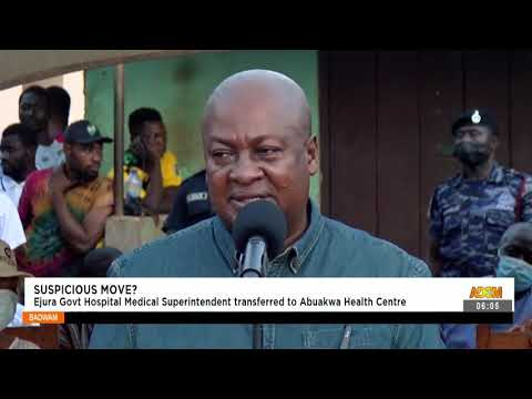 Ejura Gov't Hospital Medical Superintendent transferred to Abuakwa Health Care- Adom TV (15-9-21)