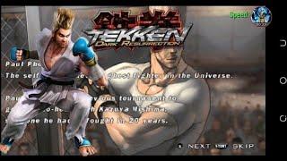 [TAS]Tekken 5-dark Resurrection full story battle as Paul Phoenix  (1080p HD)